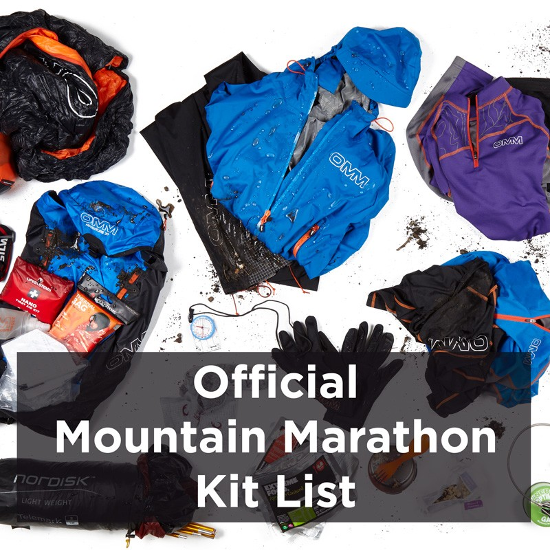 Mountain Marathon Kit List