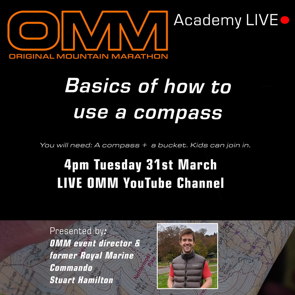 OMM Academy: Basics of how to use a compass.
