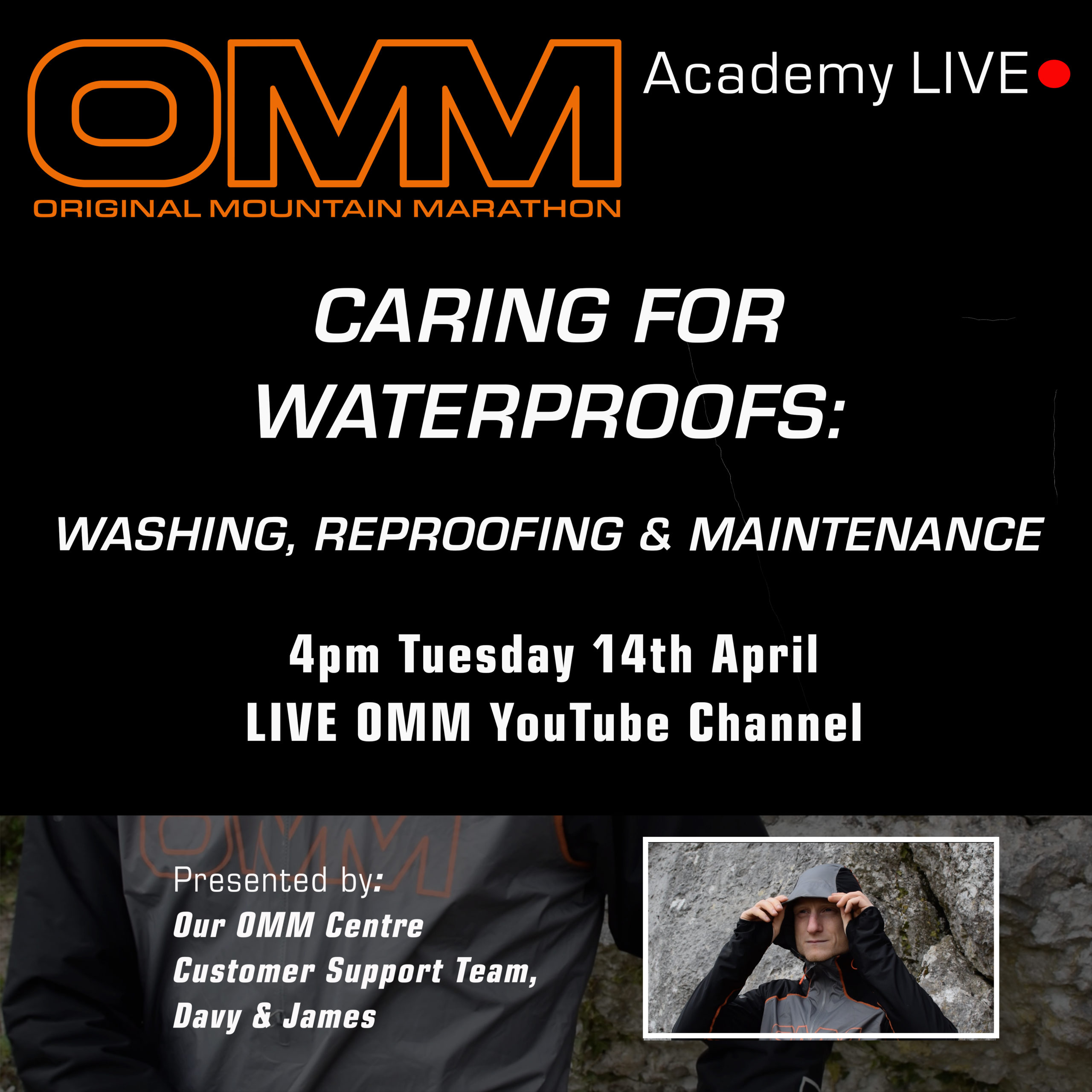 OMM Academy: Waterproof Care & Maintenance